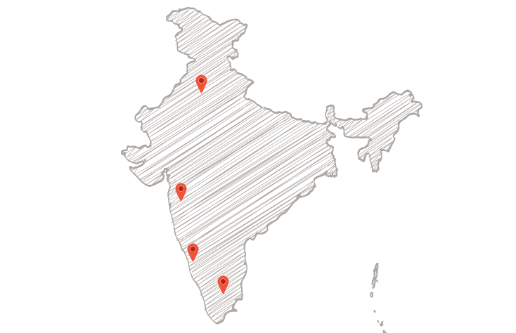 India-Map_Brown